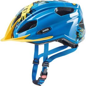 UVEX Quatro - Casque de vélo Enfant - bleu